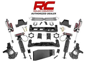 2007 2013 Chevrolet Gmc 1500 4wd 7 5 Rough Country Lift Kit W vertex 26450