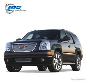 Black Sand Blast Textured Oe Style Fender Flares 2007 2011 Gmc Yukon Full Set