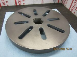 Atlas Craftsman 10 12 Lathe Slotted Face Plate 8 1 2 Part 9 365
