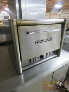 Bakers Pride Double Deck Counter top Electric Commercial Pizza Oven Used