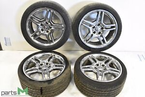 Mercedes E55 E320 E500d Amg 18 Inch Wheel Rims Set Of 4 Staggered Oem