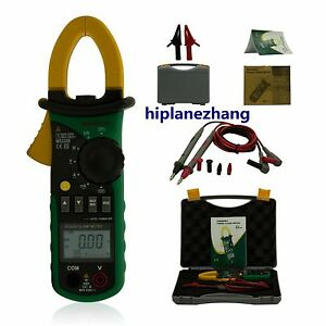 Small Current 2ma 4a 4a 200a Harmonic Power Clamp Meter Tester True Rms 2208