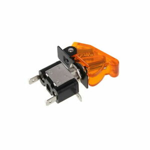 Orange Cover Yellow Led Light Controlled Rocket Toggle Switch For Volkswagen