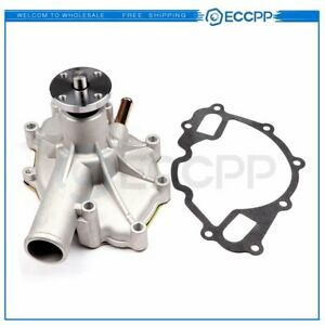 Fits 87 96 Ford Bronco Pickup F 150 F 250 F 350 5 0 5 8l Water Pump W Gasket
