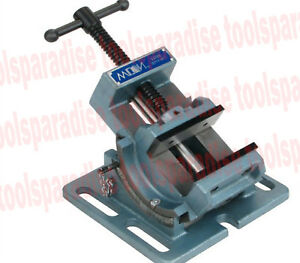 4 Wilton Angle Drill Press Milling Vise 90 Degrees Vertical Indexing Tommy Bar