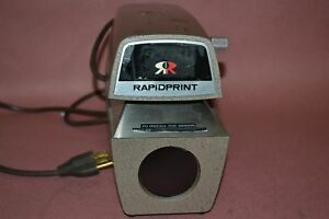 Rapidprint Time Locks recorder Date Stamp