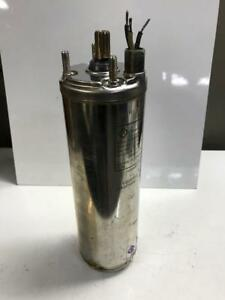 Franklin Elec Motor 2445081217 For Submersible Pump 230 V 2 Wire 1 Hp