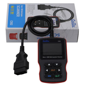 Creator C502 Diagnostic Scan Tool Full System Auto Scanner For Mercedes Benz Car