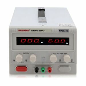 Maisheng Triple output 30v 20a Linear Dc Power Supply Regulated Variable Led Oy