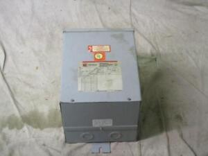 Cutler hammer S10n06a07n Dry type Distribution Buck boost Transformer 7 5kva