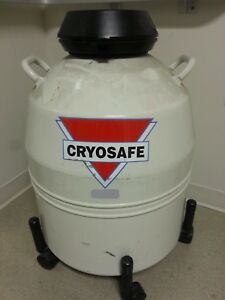 Cryosafe Liquid Nitrogen ln2 Storage Tank Used