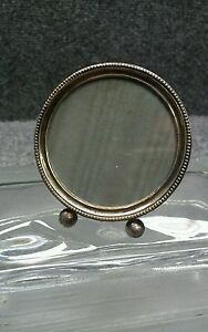 Pretty Vintage Webster Sterling 925 Round Picture Frame