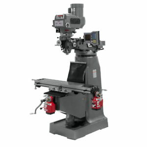 Jet 690407 Jtm 4vs 1 Mill With Acu rite Vue Dro And X And Y axis Powerfeeds