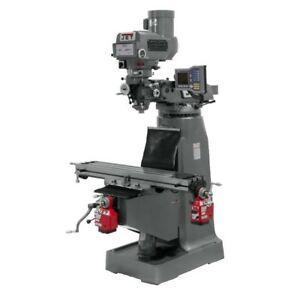 Jet 690008 Jtm 4vs Mill With X And Y axis Powerfeeds