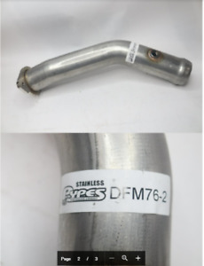 Pypes Performance Exhaust Dmf76 Catalytic Delete Pipe 11 14 Mustang Gt