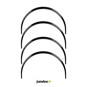 Universal Jdm Fender Flares over wide Body Wheel Arches Abs 1 2 30mm 4pcs
