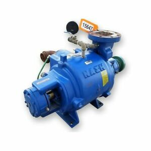 Used Gardner Denver Nash Sc4 7 Liquid Ring Vacuum Pump