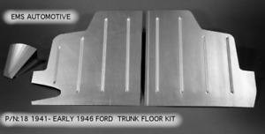 Ford Mercury Trunk Floor Kit 1941 Early 1948 18 Ems See Years In Description