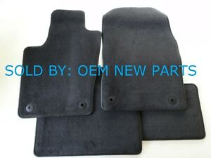 2014 2018 Dodge Durango Factory Carpeted Carpet Floor Mats Set Oem Black