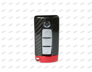 Carbon Fiber Remote Key Cover Case Shell Fob For 2008 2017 Nissan Gt r R35