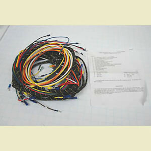 Chevrolet Chevy Gmc Truck Pvc Wiring Harness With Generator 1940 1946