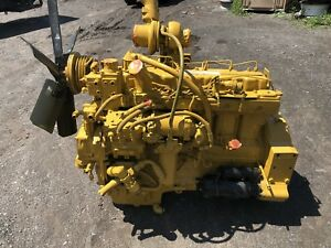 Caterpillar 3306 Di Engine 9tl 300hp Good Runner Cat Direct Injection