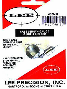 NEW! Lee Case Length Gauge and Shellholder 40 S&W 90154