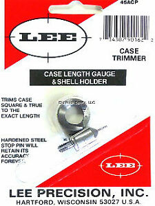 Lee Case Length Gauge Shell Holder 45 ACP Caliber .888 to .898 Inches 90162 $11.79