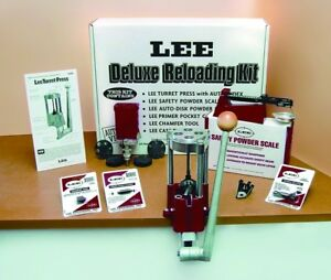 NEW! Lee 4 Hole Turret Press with Auto Index Value Kit 90928