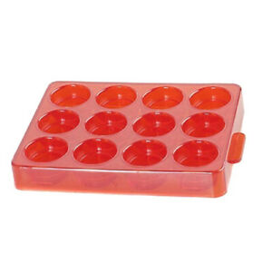 Lee Shell Holder Storage Case Holds 12 Shell Holders Red 90196 $9.11