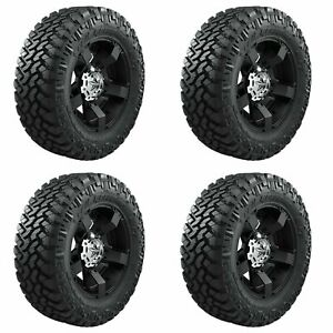4x Nitto 37x12 50r17lt Trail Grappler Off Road Truck Suv Tires M T A S 124q 8ply