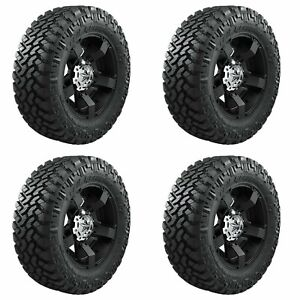 4x Nitto 33x12 50r15lt Trail Grappler Off Road Truck Suv Tires M T A S 108q 6ply