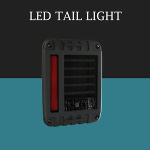 Set Of 2 Jw Speaker 6 X 8 Led Tail Lights For Jeep Wrangler Jk