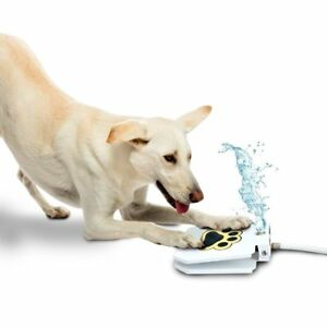 Outdoor Dog Pet Water Sprinkler Easy Activated Dog Water Fountain Toy