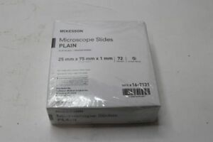 Lot Of 20 Box Of 72 Mckesson Microscope Slide 1 X 3 X 1mm Plain 16 7131