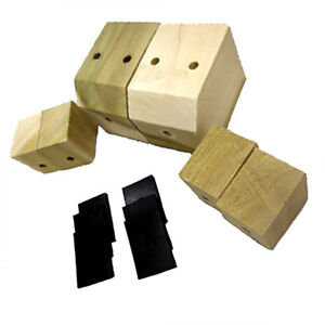 Chevrolet Chevy Gmc Truck Bed Mounting Blocks With Pads 1941 1946
