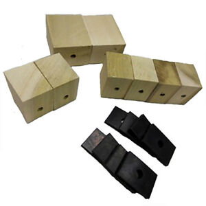 Chevrolet Chevy Gmc Truck Bed Mounting Blocks With Pads Long Bed 1934 1940