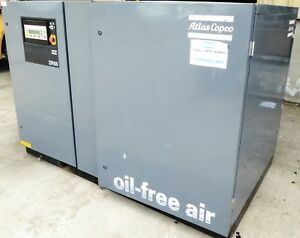 G149665 Atlas Copco Zr 55 Oil free Rotary screw Air Compressor