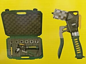 Refco Hy ex 6 Hydraulic Expander With 6 Expander Heads Brand New Price Reduced
