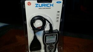 New Zurich Zr4 Obd2 Auto Code Reader Scanner Full Color Lcd 63808