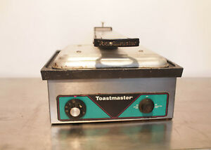 Toastmaster Sandwich Panini Griddle Grill Aluminum Commercial Electric