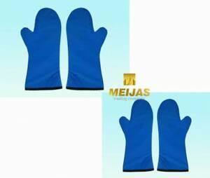 Fe09 Sanyi New X ray Imported Flexible Material Protective Glove 0 5mmpb Blue Lo