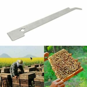 Beekeeper J Shape Hive Beekeeping Bee Hook Equip Stainless Steel Scraper Tools