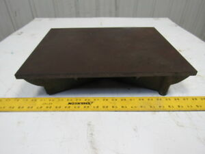 14 x18 Webbed Cast Iron Surface Plate Machinist Lay Out Inspection