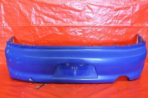 2003 Mitsubishi Lancer Evolution 8 Oem Blue Rear Bumper Cover scratch 523