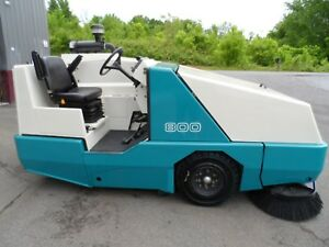 Tennant 800 Sweeper Low Hrs Only 488 Hard To Fine L p Unit Totally Serviced