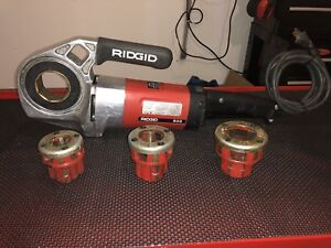 Ridgid 600 Power Pony Pipe Threader Great Condition
