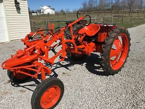 Allis Chalmers G Electric Tractor
