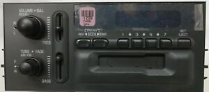 Am fm cassette Radio Oem For Some 1995 2002 Gm Work Truck Van Need A Stereo