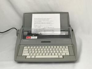 Brother Electronic Typewriter Sx 4000 Dictionary Correction Lcd Fully Tested